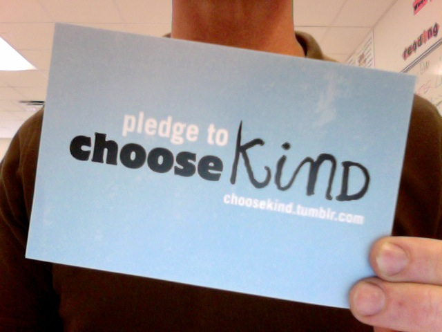 """Choose Kind""""–inspired by WONDER   {Eat the Book}"""